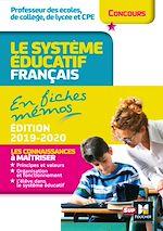 Download this eBook Concours enseignement - Le système éducatif français en fiches mémos - 2019-2020 - Révision