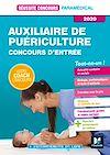 Télécharger le livre :  Réussite Concours - Auxiliaire de puériculture - Entrée en IFAP - 2020 - Préparation Complète