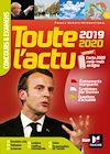 Télécharger le livre :  Toute l'actu 2019 - Concours & examens - Sujets et chiffres clefs de l'actualité 2020