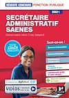 Télécharger le livre :  Reussite Concours - Secrétaire administratif, SAENES - Catégorie B - 2021 - Préparation complète