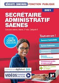 Téléchargez le livre :  Reussite Concours - Secrétaire administratif, SAENES - Catégorie B - 2021 - Préparation complète