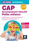 Télécharger le livre :  Pass'Foucher - CAP Accompagnant Educatif Petite Enfance Epreuves professionnelles - Entrainement