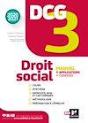 Télécharger le livre :  DCG 3 - Droit social - Manuel et applications - Millésime 2020-2021