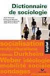 Télécharger le livre :  Initial - Dictionnaire de sociologie