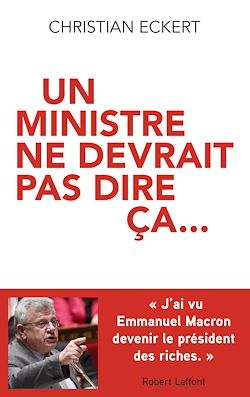 Download the eBook: Un ministre ne devrait pas dire ça