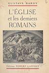Télécharger le livre :  L'Église et les derniers Romains
