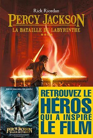 La Bataille du labyrinthe | Riordan, Rick. Auteur