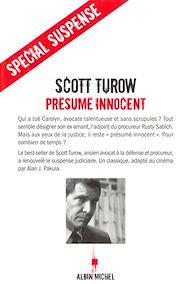 Téléchargez le livre :  Présumé innocent