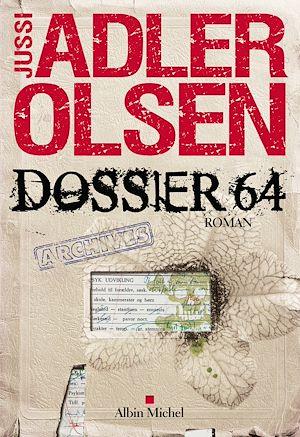 Dossier 64 | Adler-Olsen, Jussi. Auteur