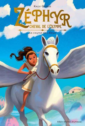 Image de couverture (Zéphyr, cheval de l'Olympe. Volume 1, La course des dieux)