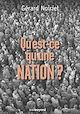 Télécharger le livre : Qu'est-ce qu'une nation ?