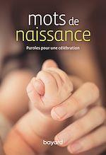 Download this eBook Mots de naissance