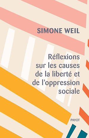 Téléchargez le livre :  Réflexions sur les causes de la liberté et de l'oppression sociale