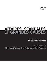 Téléchargez le livre :  Affaires, scandales et grandes causes.