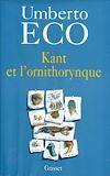 Télécharger le livre :  Kant et l'ornithorynque