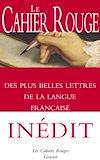 Télécharger le livre :  Le Cahier rouge des plus belles lettres de la langue française