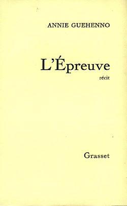 Download the eBook: L'épreuve