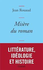 Download this eBook Misère du roman