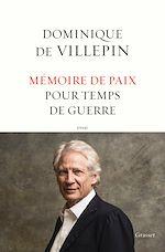 Download this eBook Mémoire de paix pour temps de guerre