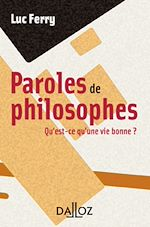 Télécharger cet ebook : Paroles de philosophes