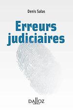 Téléchargez le livre :  Les erreurs judiciaires