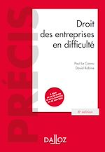 Download this eBook Droit des entreprises en difficulté - 8e ed.