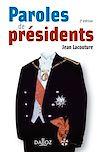Télécharger le livre :  Paroles de Présidents