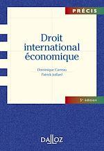 Téléchargez le livre :  Droit international économique