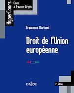 Téléchargez le livre :  Droit de l'Union européenne