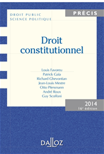 Télécharger cet ebook : Droit constitutionnel