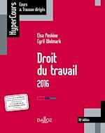 Téléchargez le livre :  Droit du travail 2016