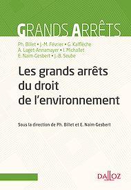 Téléchargez le livre :  Les grands arrêts du droit de l'environnement