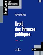 Download this eBook Droit des finances publiques