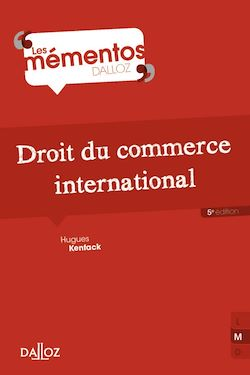 Droit du commerce international - 5e éd.