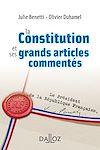 Télécharger le livre :  La Constitution et ses grands articles commentés