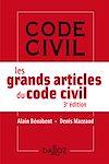 Télécharger le livre :  Les grands articles du code civil