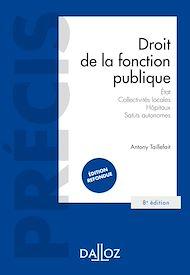 Téléchargez le livre :  Droit de la fonction publique - État . Collectivités locales . Hôpitaux . Statuts autonomes
