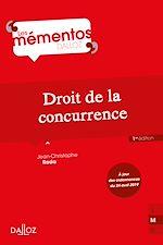 Download this eBook Droit de la concurrence - 1ère édition