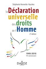 Download this eBook La déclaration universelle des droits de l'Homme