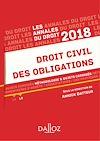 Télécharger le livre :  Droit civil des obligations 2018. Méthodologie & sujets corrigés