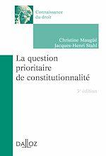 Download this eBook La question prioritaire de constitutionnalité