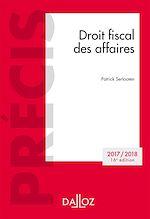 Téléchargez le livre :  Droit fiscal des affaires. Edition 2017/2018
