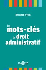 Download this eBook Les mots-clés du droit administratif