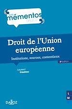 Download this eBook Droit de l'Union européenne. Institutions, sources, contentieux