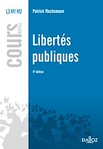 Download this eBook Libertés publiques