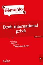 Download this eBook Droit international privé