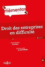 Download this eBook Droit des entreprises en difficulté
