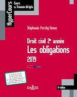 Téléchargez le livre :  Droit civil 2e année, les obligations 2019
