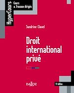 Téléchargez le livre :  Droit international privé