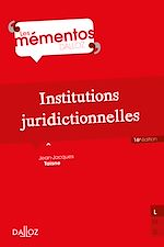 Download this eBook Institutions juridictionnelles